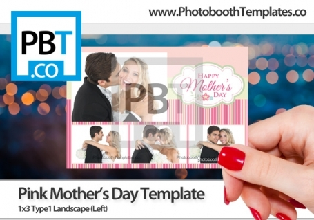 mothers day premium designer photo booth templates for breeze